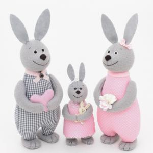 Семья зайцев  - подарок для семьи с ребенком