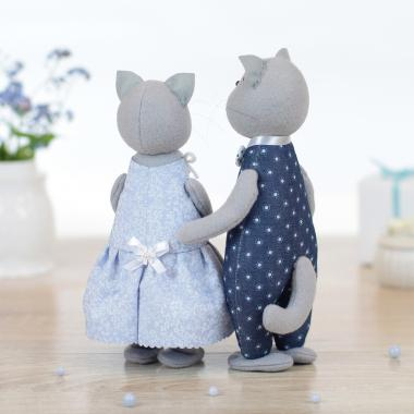 Влюбленные котики