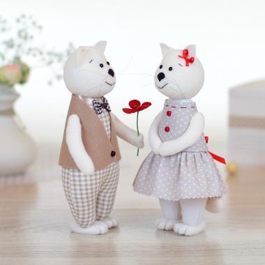 Игрушка Кот и Кошка «Первое свидание»