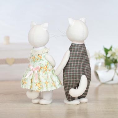 Ситцевые коты – символ домашнего очага